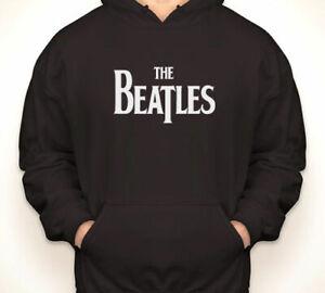 The Beatles Black Hoodie Large *NEW*