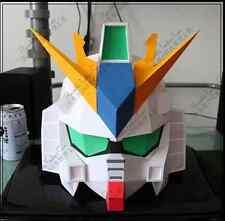 RX 93-V Gundam Helmet Wearable Paper Model Cosplay DIY Handcraft 1:1 Scale