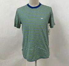 New listing Obey Men's Knit T-Shirt Apex Surf Blue/Light Yellow Size XL NWT Shepard Fairey