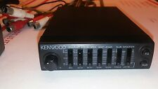 BABY KENWOOD KGC-4042 GRAPHIC EQUALIZER EQ old school RARE IMPORTED FromGermany