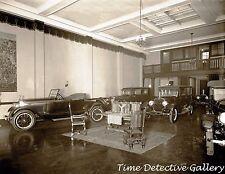 Warfield Motor Company Showroom, Wash. D.C. - circa 1920 - Historic Photo Print