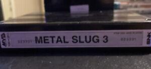 Metal Slug 3 Neo Geo MVS Arcade Game