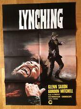 Lynching (Kinoplakat '68) - Glenn Saxon / Gordon Mitchell