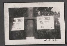 VINTAGE 1922 HOLLYWOOD BOWL LOS ANGELES CALIFORNIA STAGE ACTORS BENEFIT PHOTO