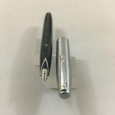 Sheaffer 440 Imperail Acero Gris Claro fp Acero F + convertir +6 CA EEUU Nueva