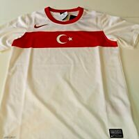 superbe maillot  football turquie  nike  foot taille 10/12 ans