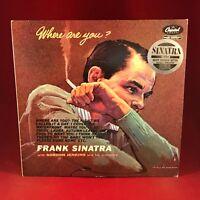Frank Sinatra Where Are You? 1984 UK Vinyl LP Exzellenter Zustand Remastered