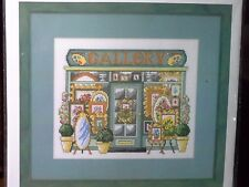 "PERMIN""ART SHOP""CROSS STITCH KIT  Kreuzstich-Stickpackung 33x28 CM"
