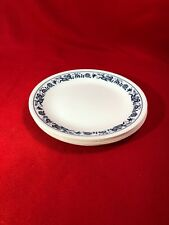 """Vintage 6 Corelle Corning OLD TOWN BLUE ONION 8 1/2""""  Luncheon or Salad Plates"""