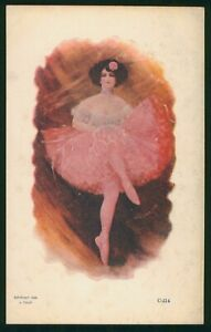 Mayfairstamps Art PC Ballerina Postcard wwo_56505