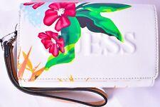 GUESS Factory Laken Floral Printed Large Wristlet Wallet >NEW<
