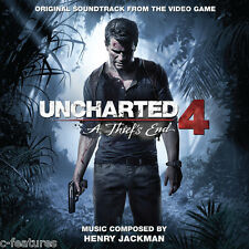 UNCHARTED 4: THIEF'S END Henry Jackman CD LA-LA LAND Ltd Ed SOUNDTRACK Score NEW
