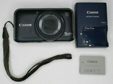 Canon PowerShot SX210 IS Digital Camera W/ Battery & Charger - TESTED & WORKING