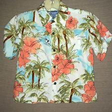 Big Dogs Youth Little Boys sz 4/5 Hawaiian Button Front Shirt Top