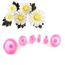 6pcs Daisy Flower Petal Cake Cutters Cake Decorating Tools Fondant Gum Paste