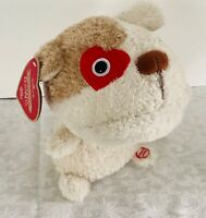 Hallmark DAWG LPR3905 Plush dog with Sound and Motion YAKETY YAK Kiss Me Back To