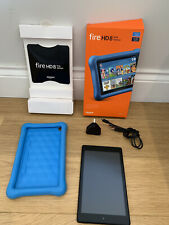 "Kindle Fire HD 8 Kids Edition tablet 8"" HD 32 GB, Blue Kid-Proof Case Bundle"