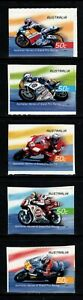 2004 Grand Prix Motorcycle Heroes S/A Set of 5  Mint Never Hinged