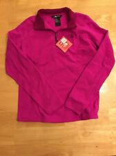 The North Face Womens 1/4 Zip Long Sleeve Fleece Size Medium