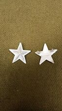 WWI US Army/ USMC Officer Brigadier General Full Size Faux Bullion, One Pair