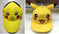 Pokémon Cosplay Enfants Casquette de baseball Pikachu Casquette pointue