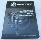 Mercury Outboard 40/50/60 SeaPro Jet FourStroke EFI Service Manual 90-8M0105570