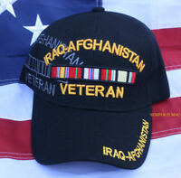 IRAQ AFGHANISTAN HAT CAP US ARMY MARINES NAVY AIR FORCE VETERAN IRAQI OIF OEF