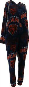 NFL Pinnacle Unisex Union Suit Cinch Bag Bears L NEW A387690