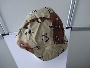 US- Helmüberzug Cover,Ground Troops Parachutists Helmet, Six-Color Desert, M/L