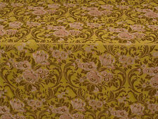 By the Metre Unbranded Floral Brocade Craft Fabrics