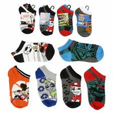 8 PAIR Mickey Mouse, Ninja Turtles, Paw Patrol Socks Kids Boys Shoe Size 4-8.5