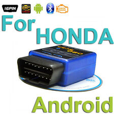 OBD 2 Android Scanner CAN Diagnostics Reader Wireless Bluetooth Tool For HONDA
