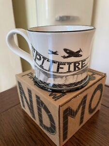 Brand NEW Moorland Pottery Spitfire Plane Mug In Gift Box
