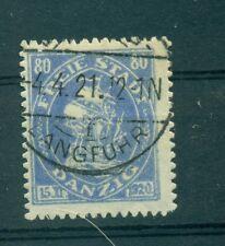 "FREE CITY OF DANZIG - GERMANY 1921 ""Cog"" 80 Pf"