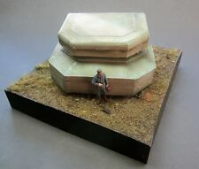 1/35 Scale  - Concrete MG Bunker WW2 German defences