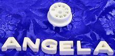 9 Pin PC Mount Ceramic & Nickel Tube Socket 9202 Fits 12AX7, 6DJ8, 7199, 6CA4