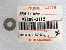 Kawasaki NOS NEW  92200-3712 Washer 6.5x16x1 JF JH JL JT KL KLX KX ZR 1991-2017