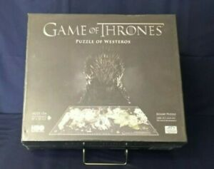 Game of Thrones 4D Cityscape Of Westeros Jigsaw Puzzle 1400+ pieces