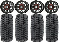 "Xs135 Grenade Black 15"" Wheels 32"" Regulator Tires Yamaha Viking Wolverine"