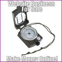 Fully Stocked COMPASSES Website Business|FREE Domain|FREE Hosting|FREE Traffic