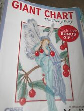 'The Cherry Fairy' Cross Stitch Chart(only)