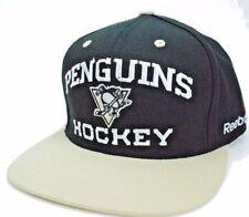 Pittsburgh Penguins Reebok NF96Z NHL Team Logo Snapback Hockey Cap Hat
