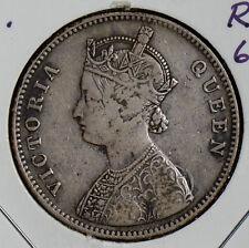 British India 1862 B Rupee silver I0220 combine shipping
