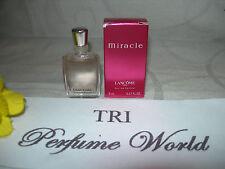 Miracle by Lancome Eau de Parfum EDP Women Miniature Dab-on 5 ml