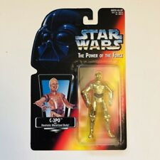 C-3PO Star Wars Power Of The Force 2 POTF2 1995 Red/Orange Card .00 MOC!!