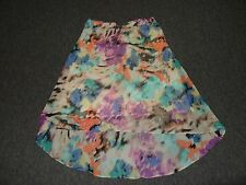 WOMENS SIZE XL LAYERED SKIRT BY SUNNY LEIGH *COLORFUL*  VERY PRETTY!!!