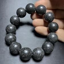 Mount Fuji Volcano rock bracelet healing 17mm 92g Genuine Rare Natural Japanese