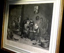 [FRANC-MACONNERIE Gravure] TENIERS (David) - Les Francs-Maçons flamands en loge.