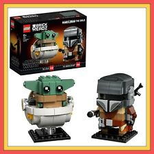 LEGO Star Wars Brickheadz 75317 Mandalorian & The Child *BNIB