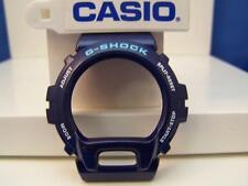 Casio Watch Parts DW-6900 CC-2 Bezel Shell Blue G-Shock. Original Casio Case Par